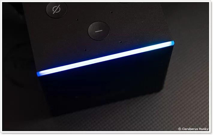 Fire TV Cubeのインジケーターランプ
