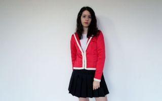 DIY chaqueta cuello marinero
