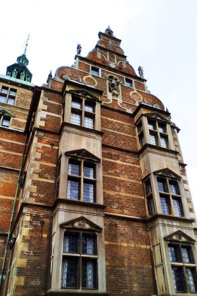 Castillo de Rosenborg en Copenhague, Dinamarca
