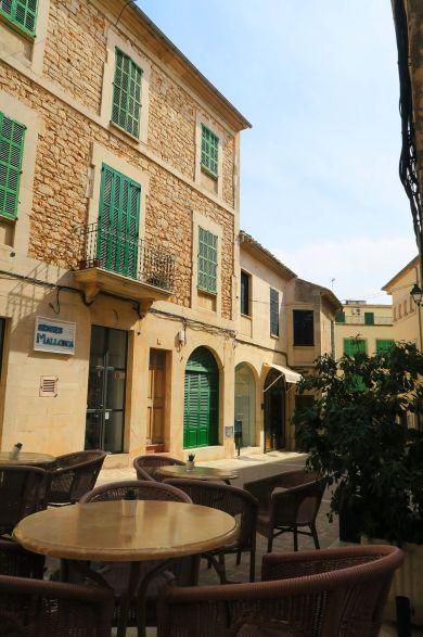Terrazas en Santañy, Mallorca, España