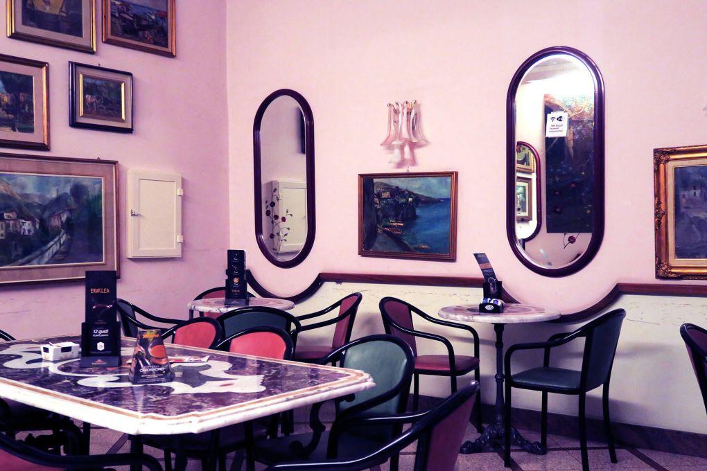 Merienda en Sorrento, Italia