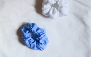 Tutorial costura DIY: coleteros / scrunchies
