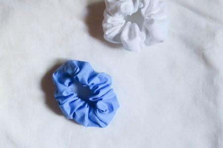 Tutorial costura DIY: coleteros / scrunchies