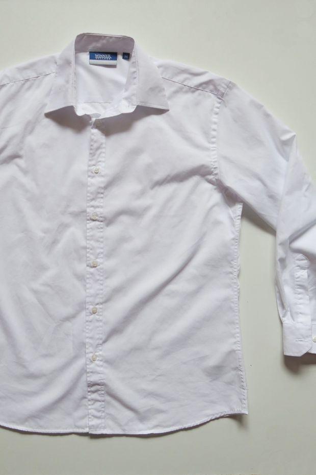 Tutorial reciclaje ropa: DIY camisa manga abullonada, camisa de partida