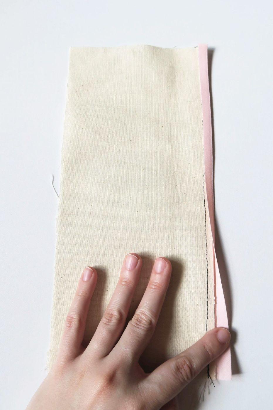 Técnicas de costura: cómo coser un bies, bies planchado y vuelto