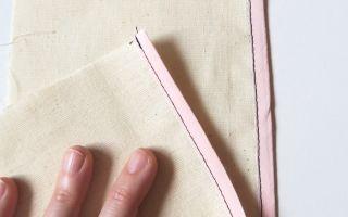 Técnicas de costura: cómo coser un bies, bies cosido por derecho y revés