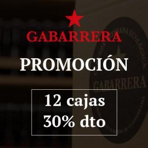 Promo Gabarrera 12 cajas 30% DTO.