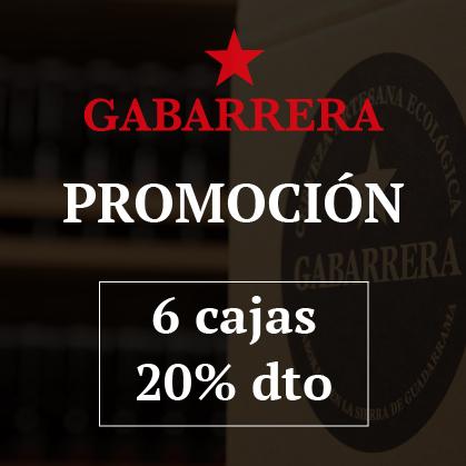 Promo Gabarrera 6 cajas 20% DTO.