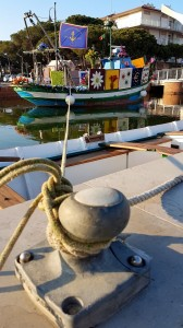 Barche Fiorite 2017 a Cervia - 4