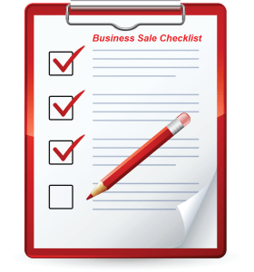 Business Sale Checklist