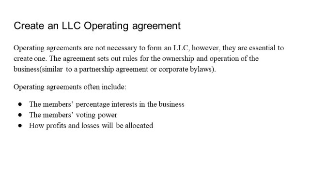 Forming an LLC in Alaska 5