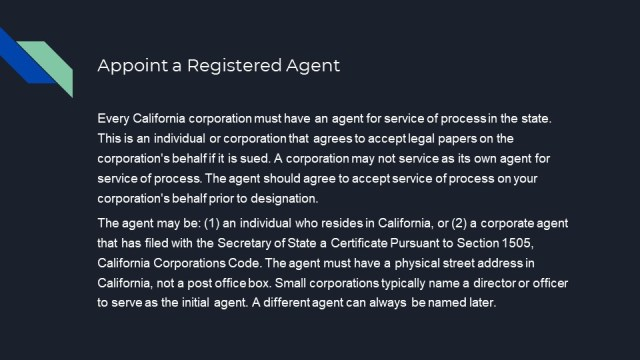 How to Form a Corporation in California 3
