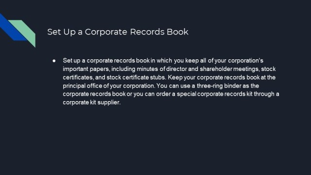 How to Form a Corporation in California 5
