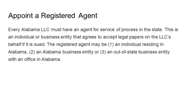How to Form an LLC in Alabama 4