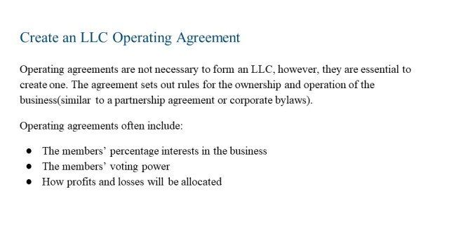 How to Form an LLC in Connecticut 5