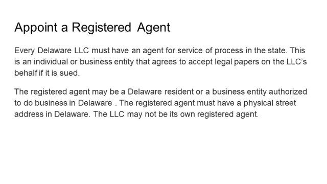 How to form an LLC in Delaware 4