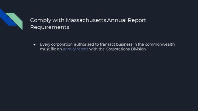How to form an S or C Corpation in Massachusetts
