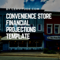 convenience-store-financial-projections-template