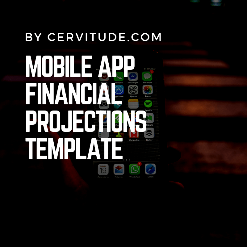 5 Year Mobile Application Cash Flow & Financial Projections Template