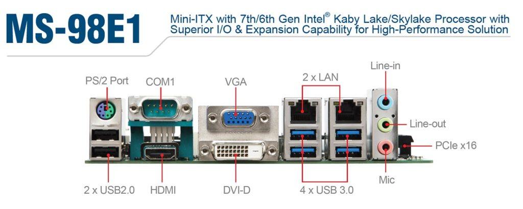 MS-98E1 金属フレームデザイン 産業用パネルPC