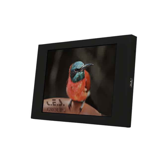 6.5英吋 工業級金屬框液晶螢幕