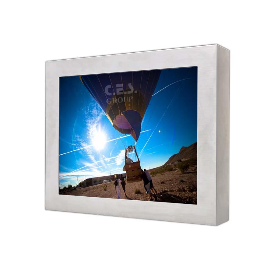 15英吋 工業級不鏽鋼液晶螢幕