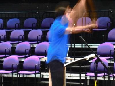 Maestro in Motion
