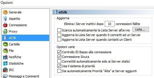lista server emule adunanza 3.16