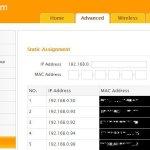 Router modifica impostazioni IP statico