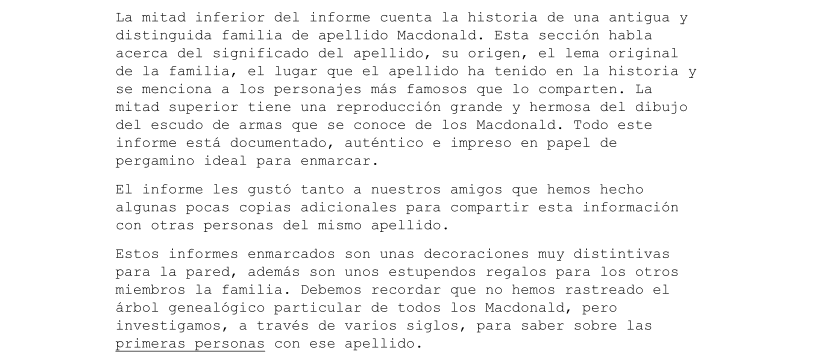 The Coat of Arms de Gary Halbert en Español fragmento