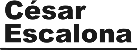 Copywriter César Escalona