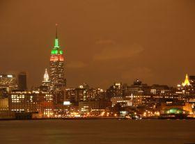 Sky line de Nueva York desde Hoboken