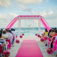 Cesar Salas Photography Boda playa novios cancun