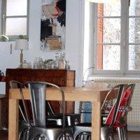 Cuisine (temporaire) & salle à manger : done !