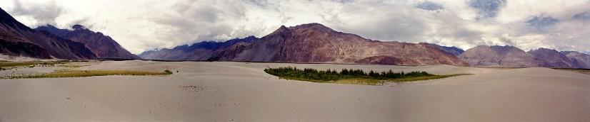 S.P. Vijaykumar. Sand Dunes. 2000. Nubra Valley, Ladakh.