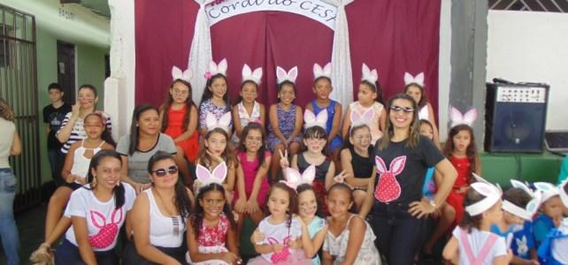 Confira as fotos da Linda Festa de Páscoa do CESF
