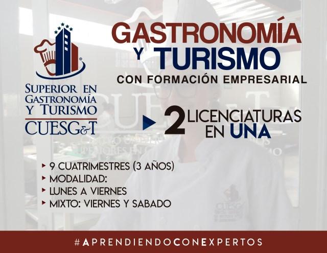 Escuela de Gastronomía en Pachuca