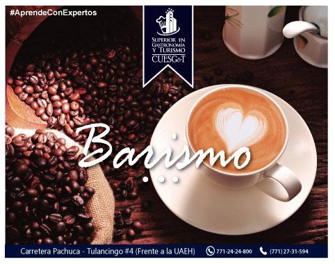 Recreación de Barismo en una Taza de Café