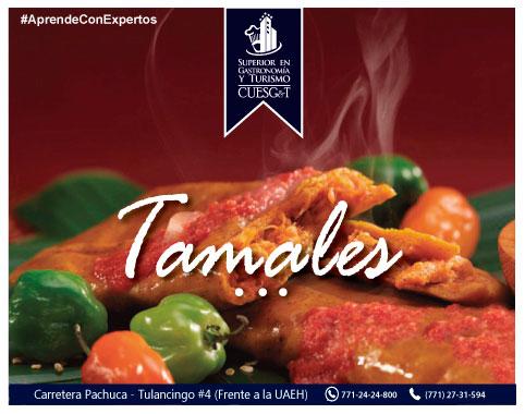 Tamales recíen cocinados