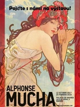 Alphonse Mucha - POJĎTE S NÁMI NA VÝSTAVU!