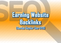 Earning Website Backlinks - Charles Snyder Raw #129: It's unscripted, unplanned and uncooked!