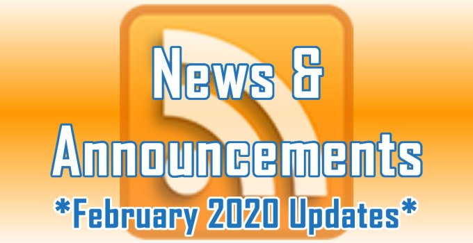 February 2020 Updates - News and Announcements from C. E. Snyder Marketing LLC