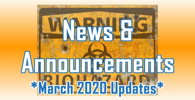 March 2020 Updates - News and Announcements from C. E. Snyder Marketing LLC