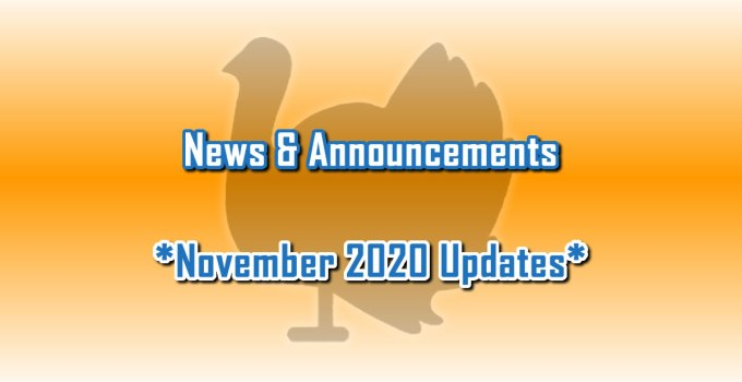 November 2020 Updates - News & Announcements from C. E. Snyder Marketing LLC