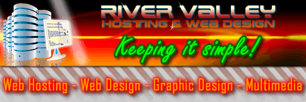 Formerly River Valley Hosting & Web Design, now C. E. Snyder Marketing LLC