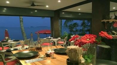 Restaurant glacier à vendre à Bophut Koh Samui - Vue mer et terrasse sur plage