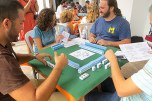 El sábado se celebró un taller práctico de Mahjong