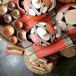 Cerâmica utilitária indígena - Etnia Waurá - Xingu - Mato Grosso - Cestarias Régio