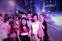 Never again will I go to Times Square on Independence Day =))
