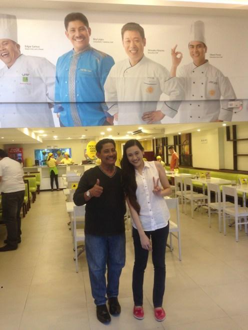 Me with Chef Boy Logro